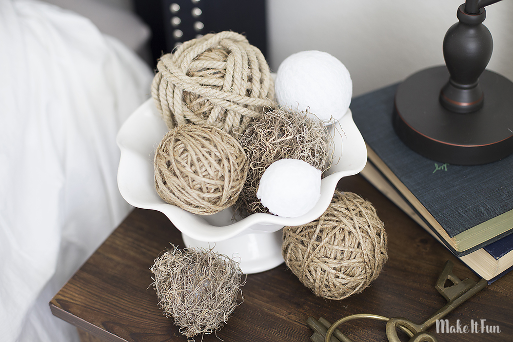 Diy Decor Balls Captivating Make It Fun Blog  Diy Decorative Ball Vase Filler Inspiration