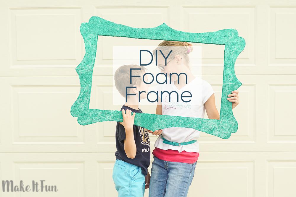 Handmade Selfie Frame - Make It Fun Blog