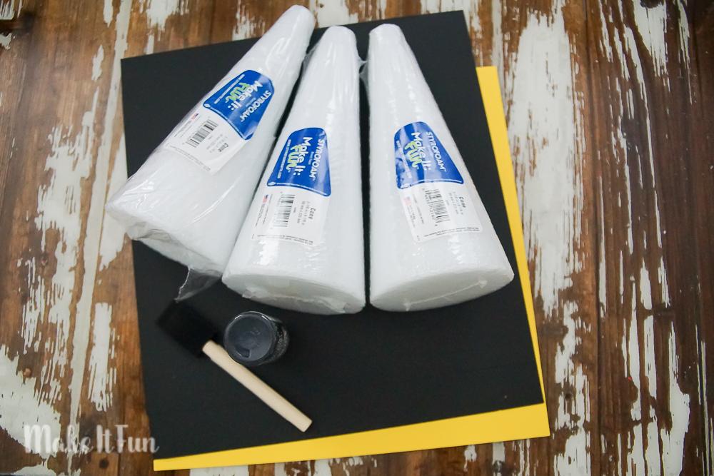Pilgrim Hat Placeholders - supplies