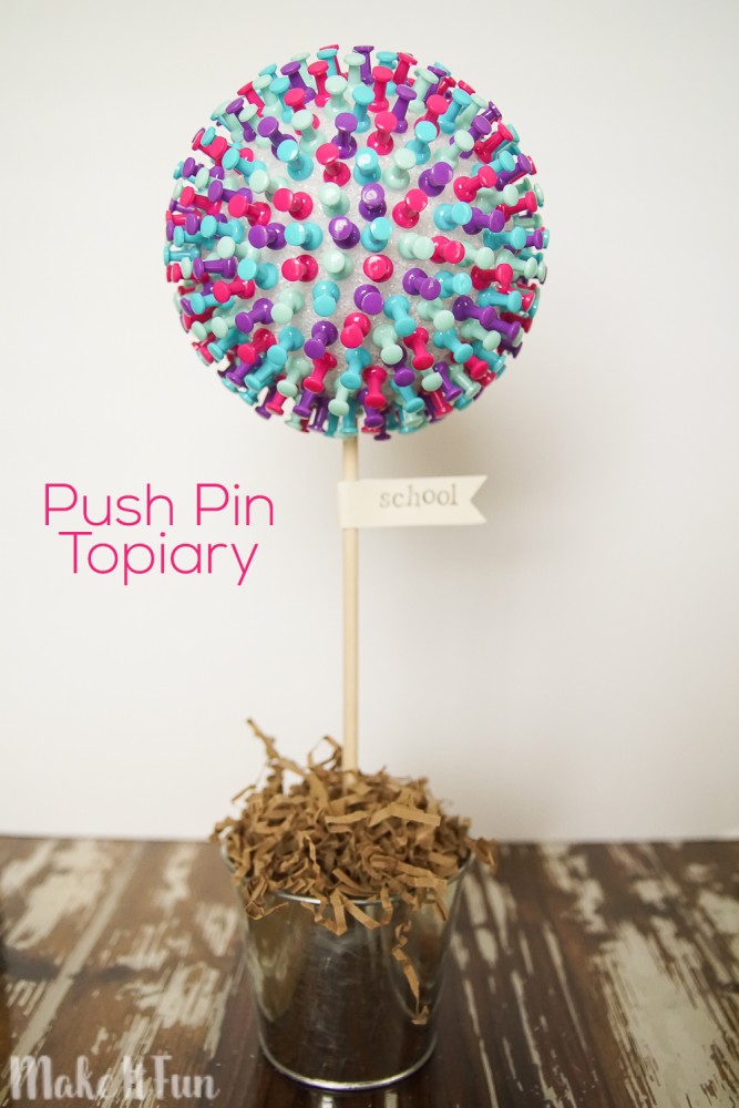 Push Pin Topiary