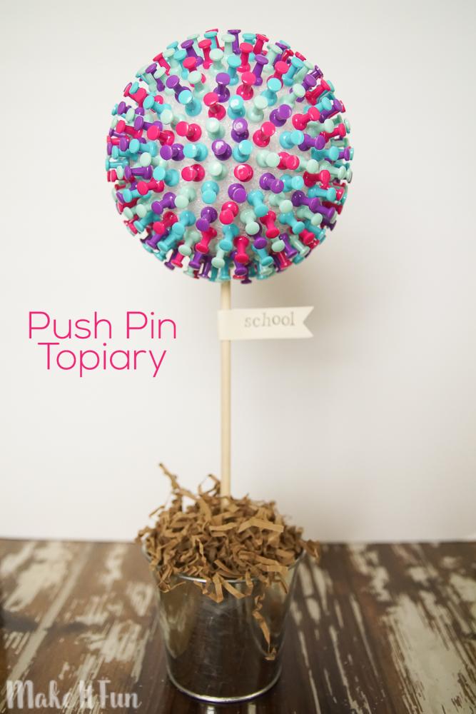Push Pin Topiary