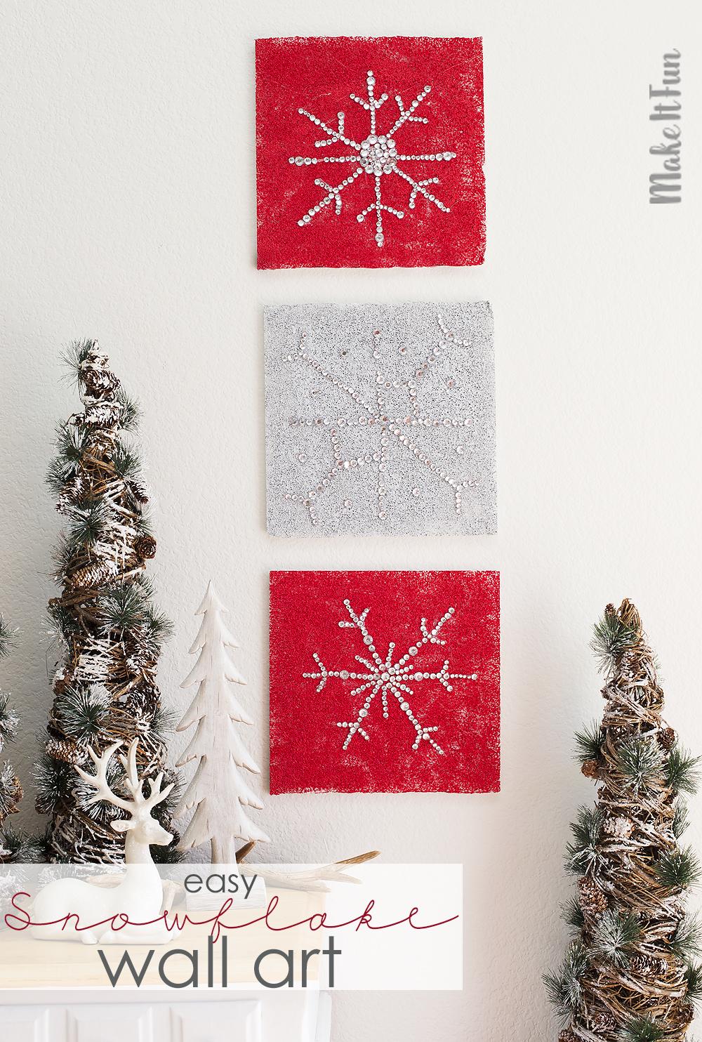 diy-snowflake-wall-art