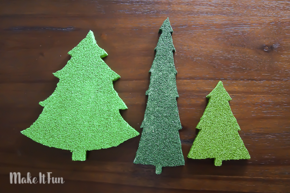 Foam Christmas Tree Decor