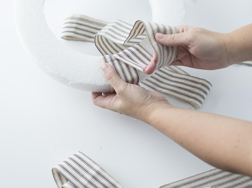 wrap-fabric-strips-around
