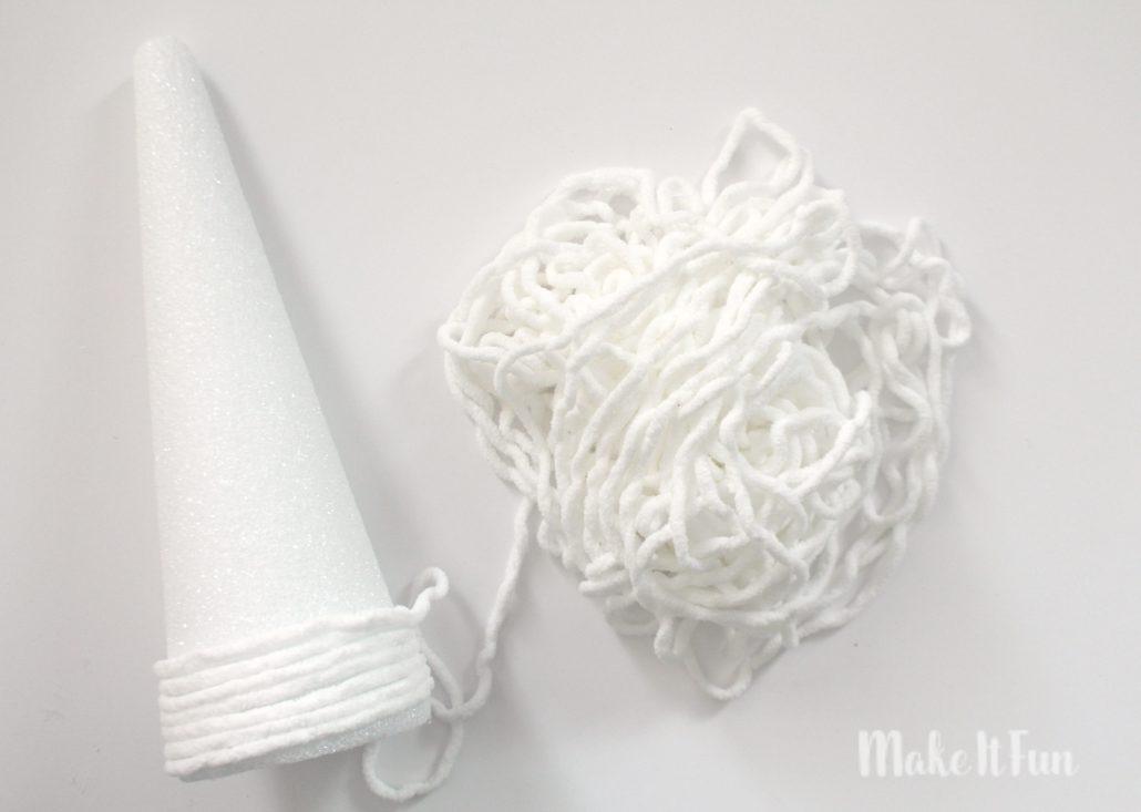 yarn-wrapped