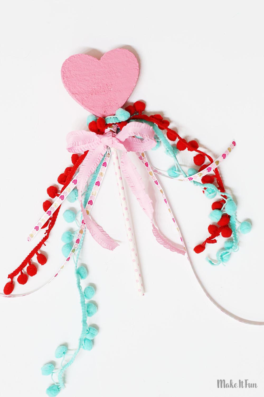 how to make a princess wand craft