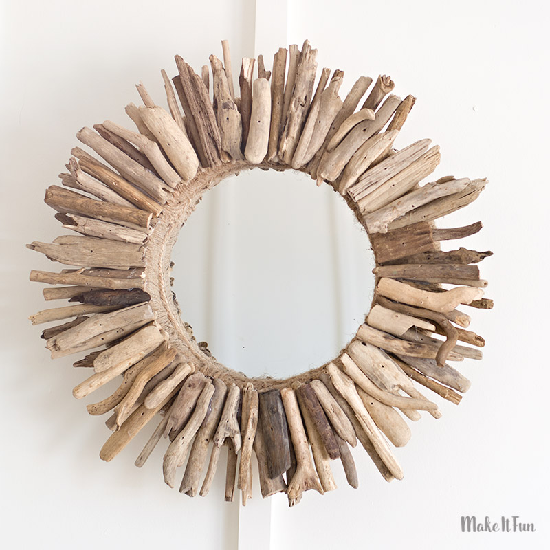 easy diy driftwood mirror make it fun blog