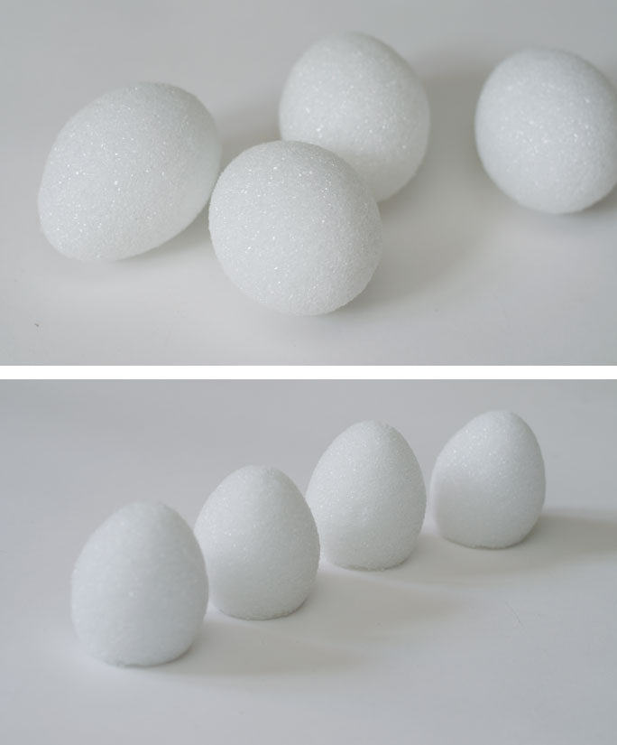 Faux Concrete Easter Eggs
