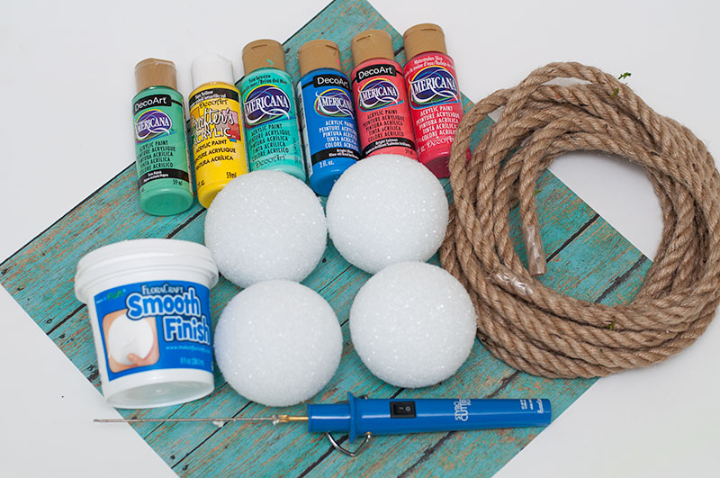 DIY Foam Buoy Craft